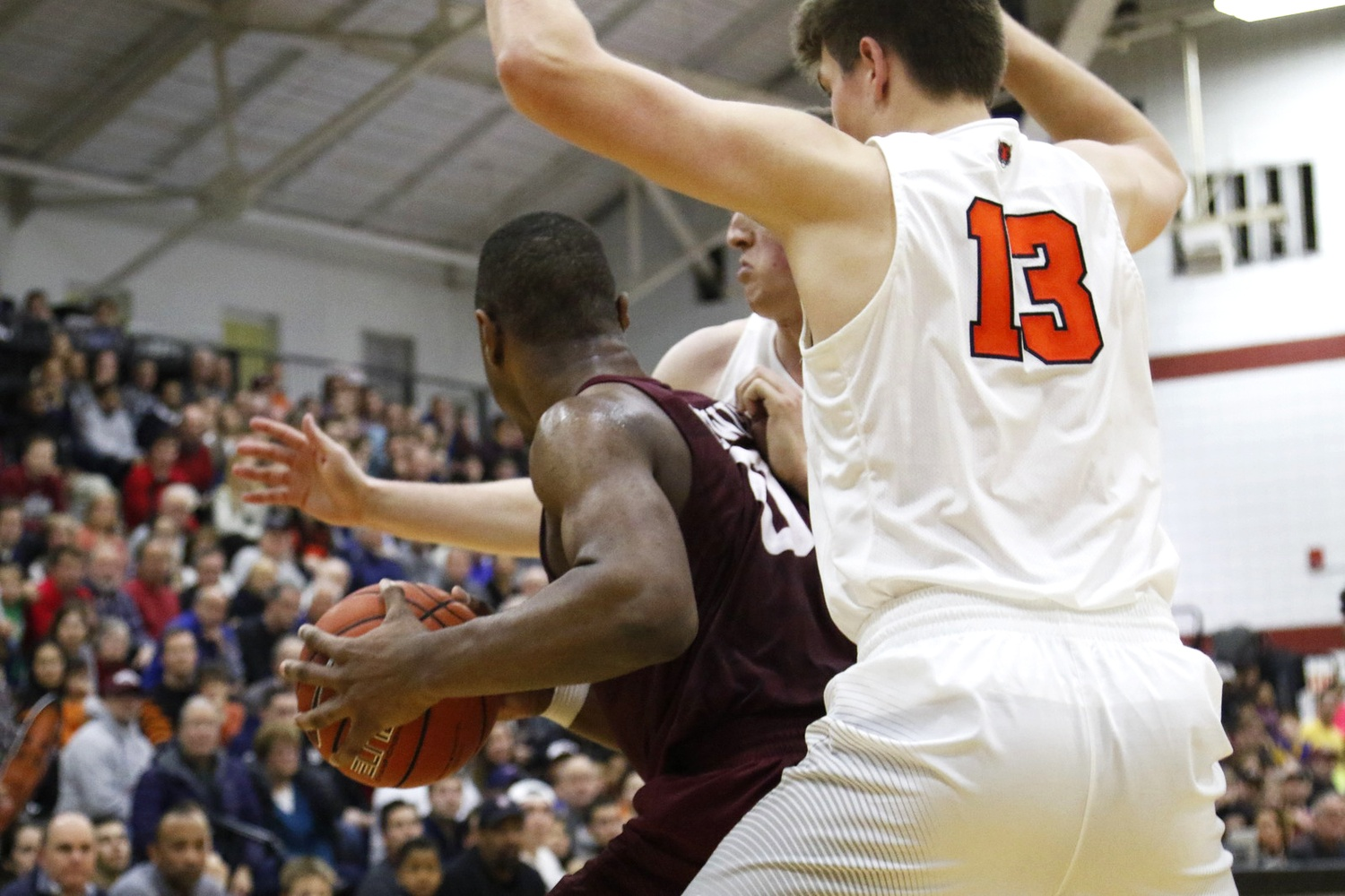 Freshman Chris Lewis and the rest of the Harvard men's basketball squad will look to defend their home court this weekend against Cornell and Columbia.