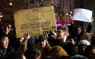 Shkreli Protesters