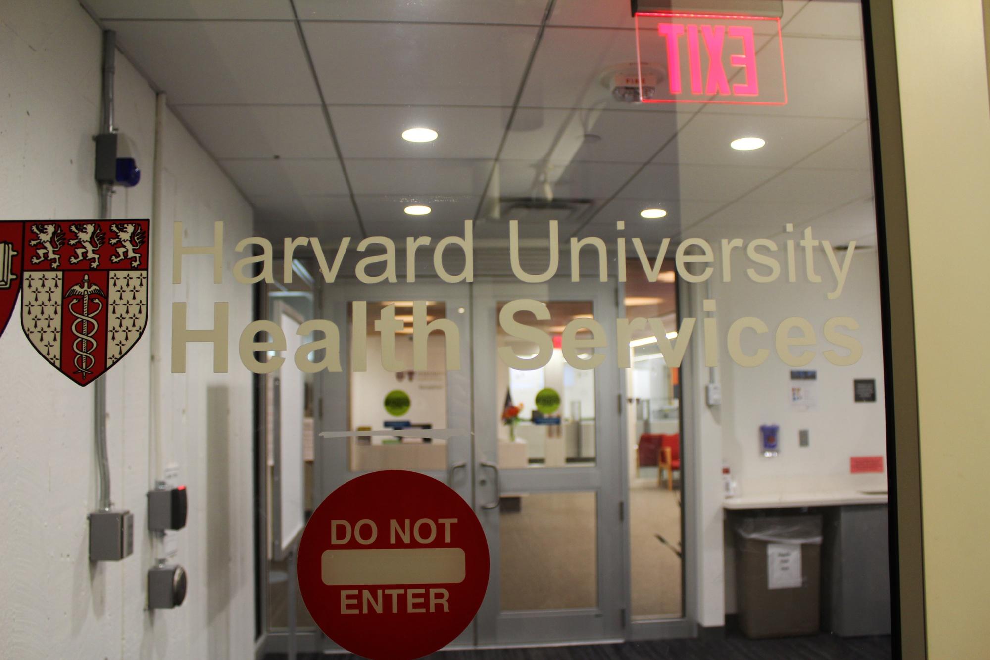 Harvard University Health Services provides medical care to University affiliates.