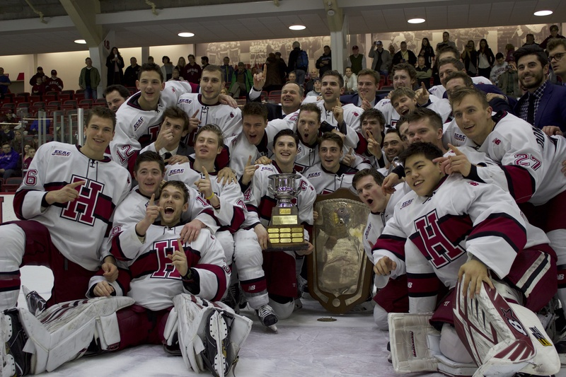ECAC: With Cornell's Help, Harvard Wins Share Of Cleary Cup