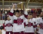 Men's Hockey Wins Share of Cleary Cup
