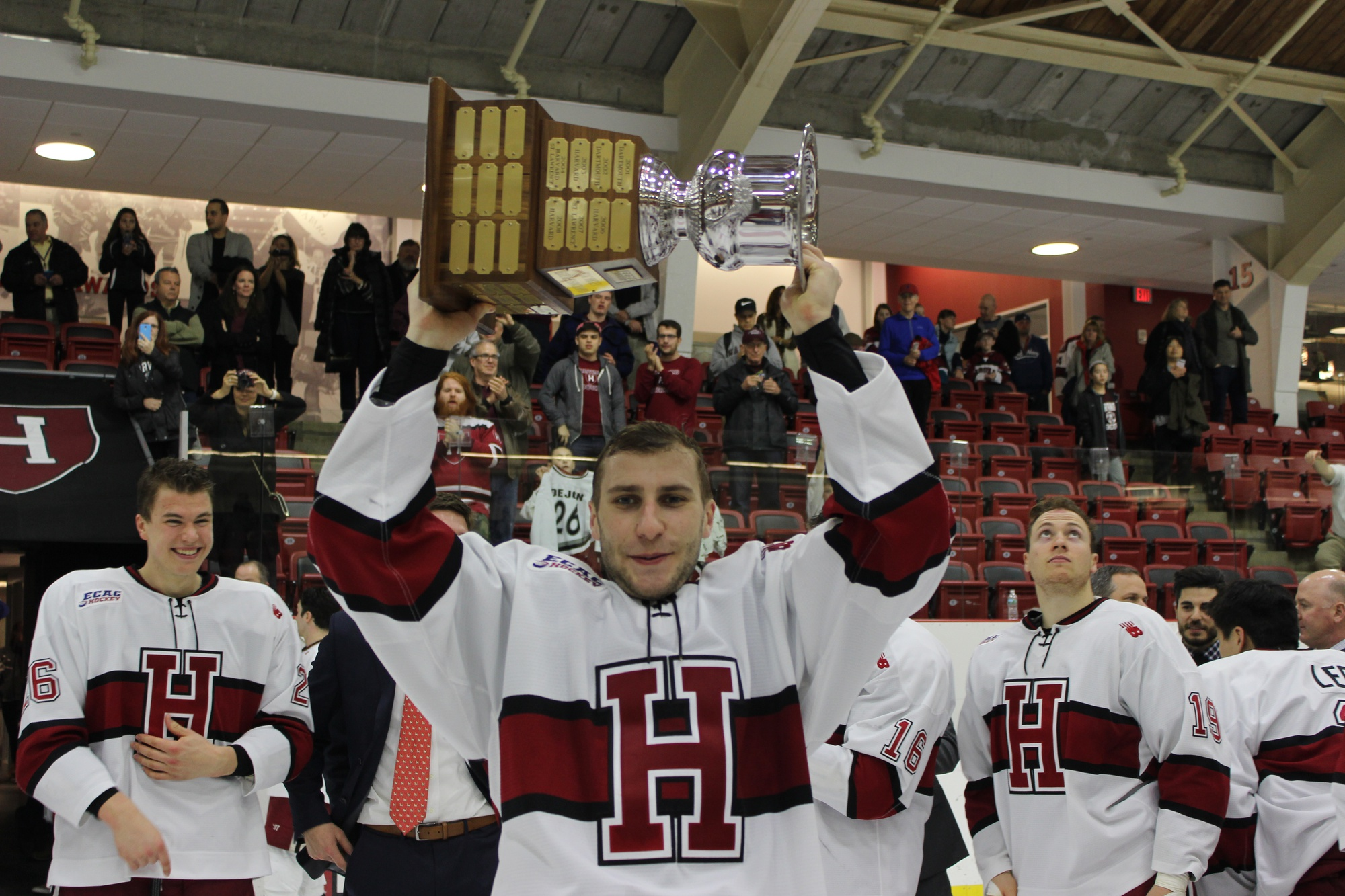 Having played in Harvard's last 14 games, senior Phil Zielonka has won trophy after trophy without losing a contest.