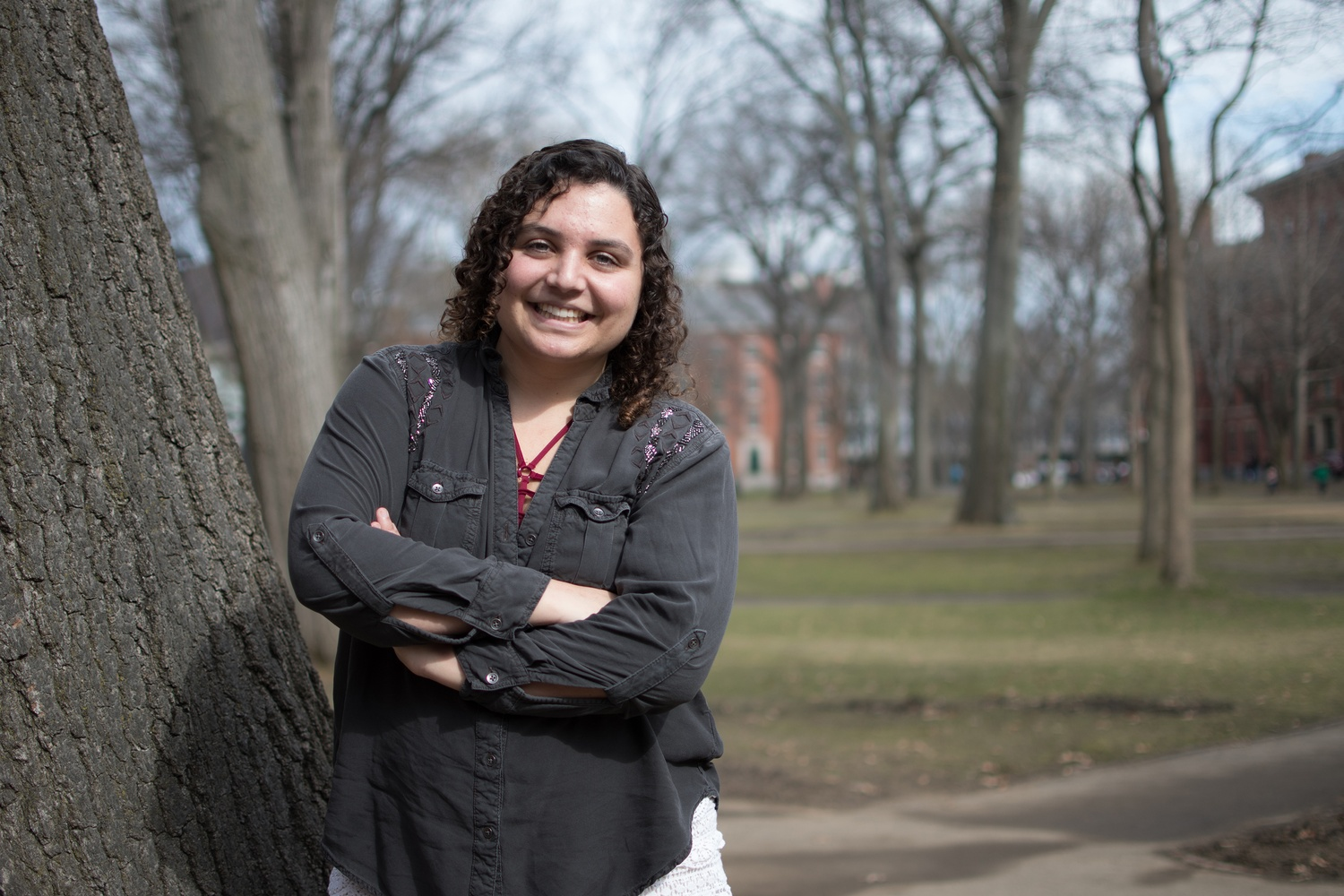 """A weight lifted off my shoulders knowing that I didn't have to stress anymore and that I was going to be able to focus on getting healthy,"" says Nikki M. Daurio '19-'20."