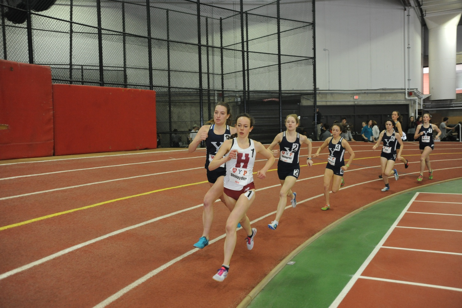 Junior distance runner Elianna Shwayder, pictured in 2015.