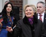 Hillary Clinton Visits Harvard