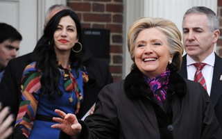 Hillary Clinton Visits Harvard