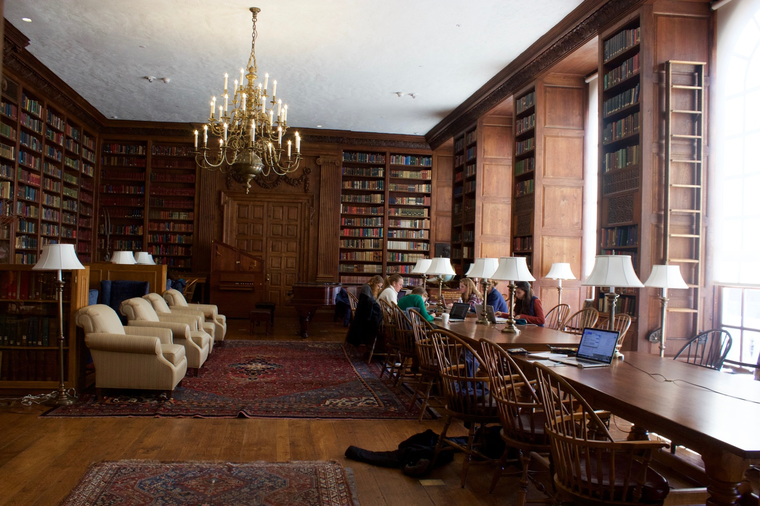 The Library in Dunster House