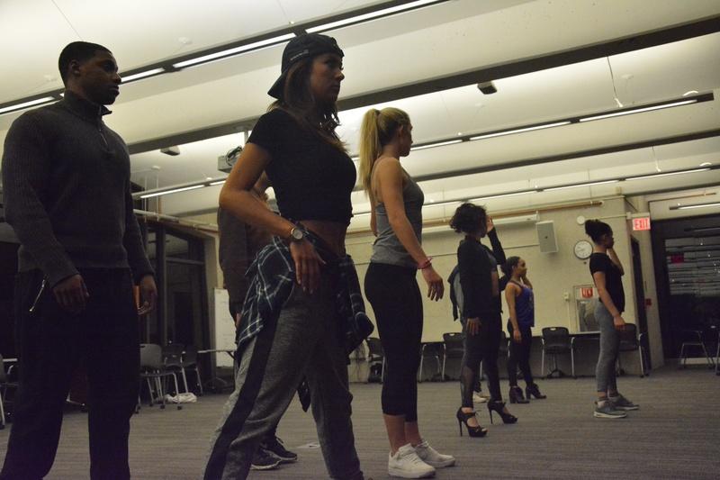 Eleganza Rehearsal