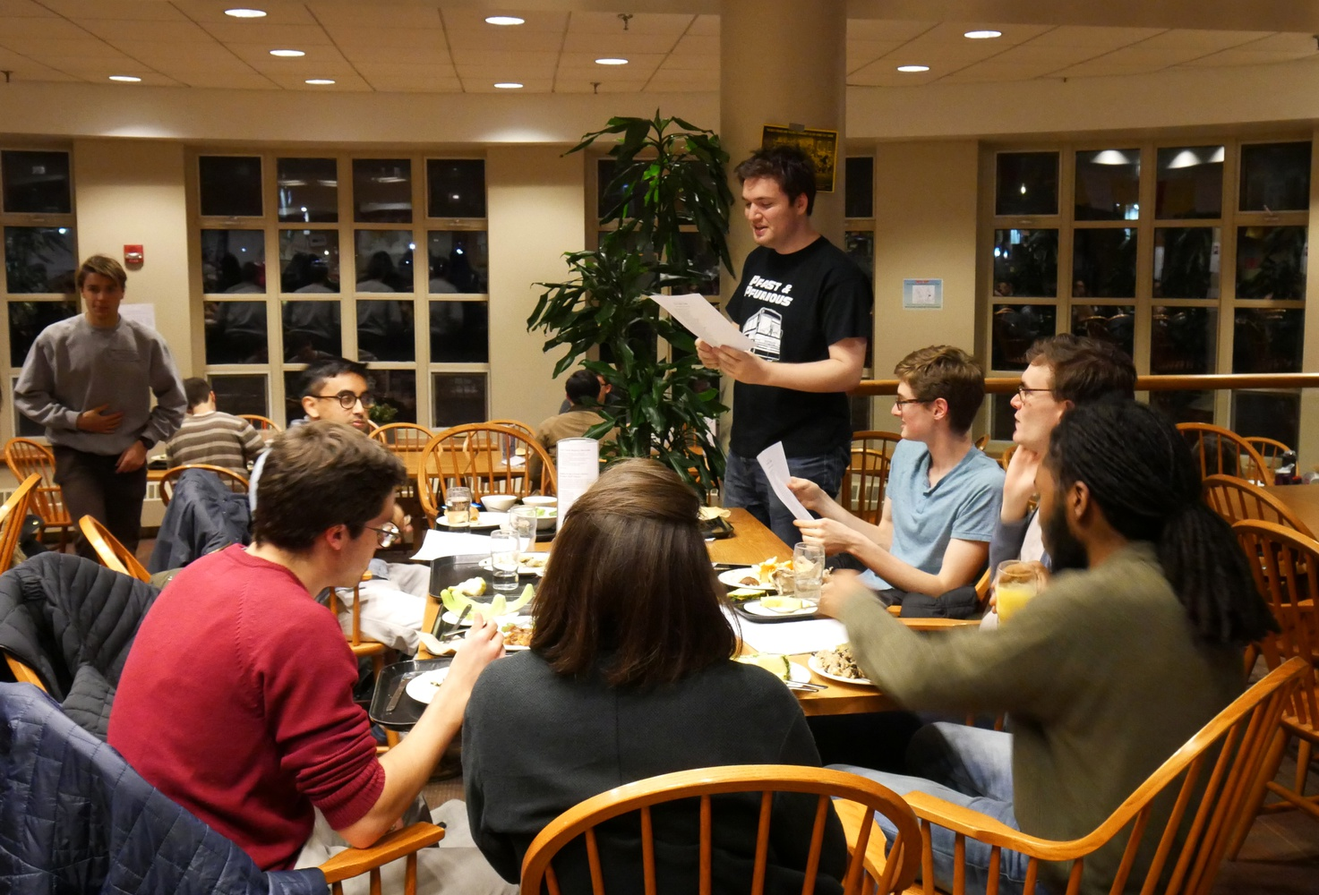 Satire V hosts the Chaucer Society Inaugural Dinner Thursday in reaction to Dean Khurana's final report on single gender student organizations.