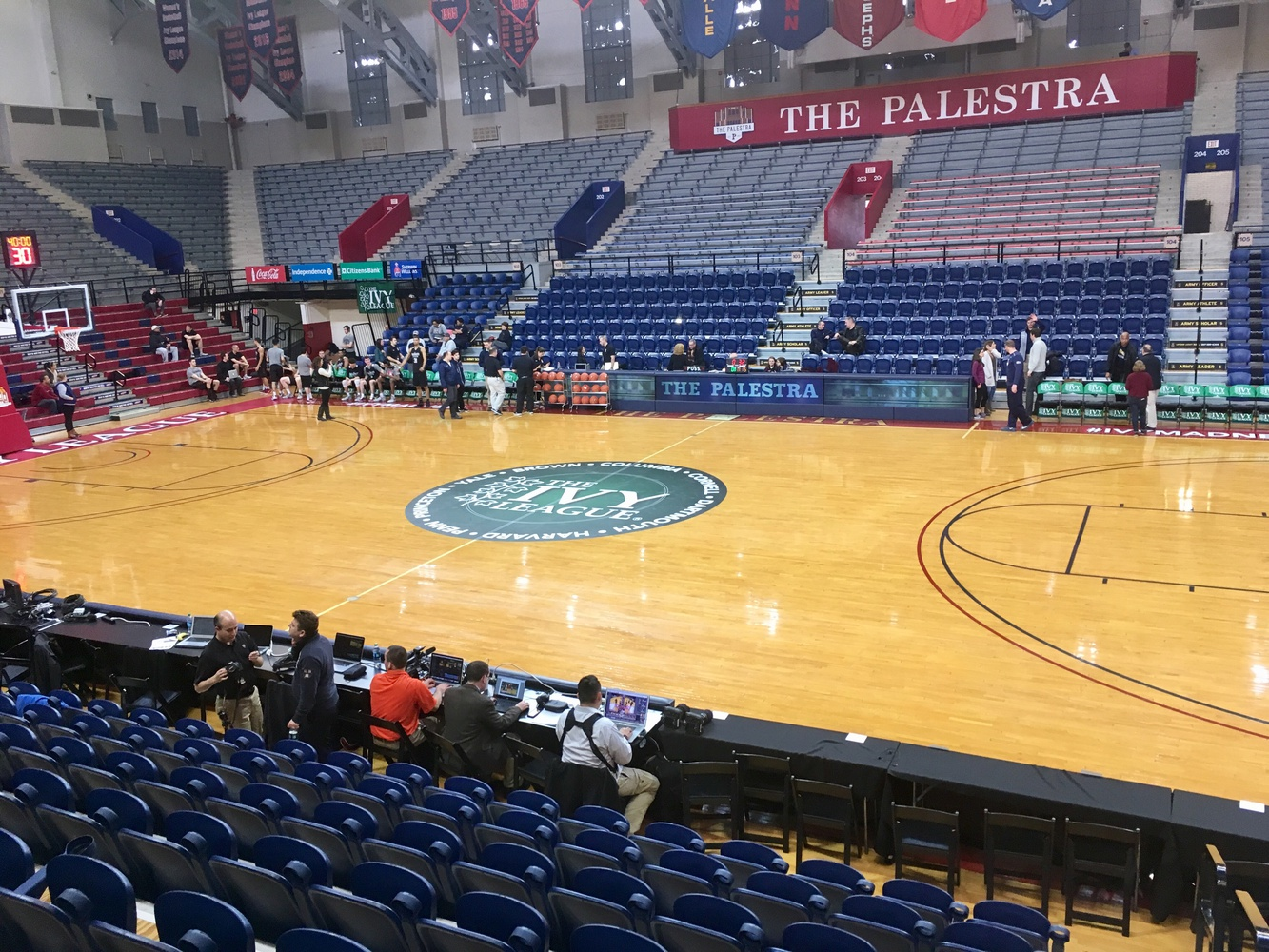 The Ivy League has rebranded the Palestra, traditionally Penn's home gym, to feel more like a neutral site for the Ivy League Tournament.