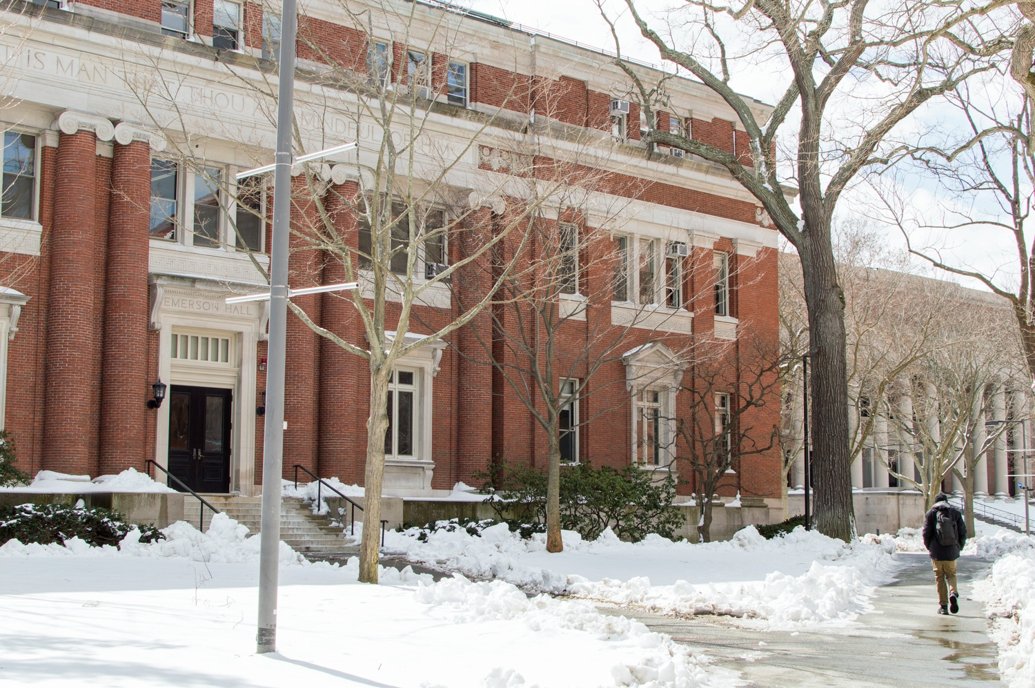 The Philosophy Department is housed in Emerson Hall, which has partnered with the Computer Science Department to offer six courses with bases in both fields.