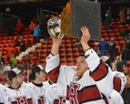 Men's Hockey Wins ECAC Title
