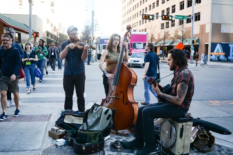 Street Performers in Austin