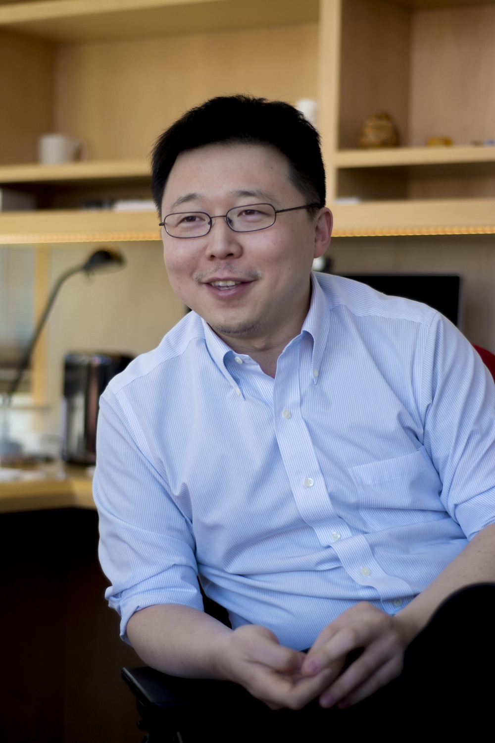 """I tried to build the lab as a start up environment by putting together or recruiting people who are deeply passionate,"" Zhang says. ""There was just this energy."""