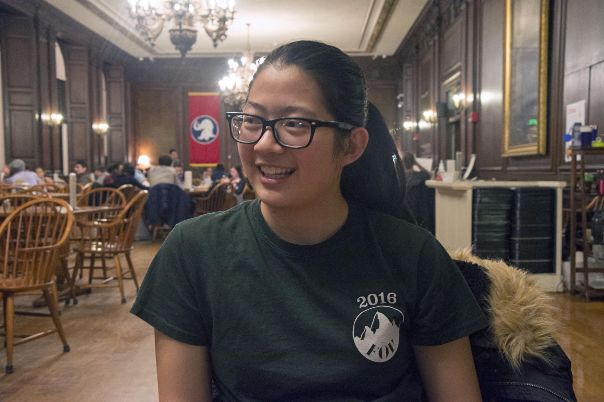Harvard freshman Rebecca Chen '20, the starter of Harvard Memes for Elitist 1% Tweens. The Facebook meme page is modeled after two similar university-based groups––UCLA Memes for Sick AF Tweens and UC Berkeley Memes for Edgy Teens.