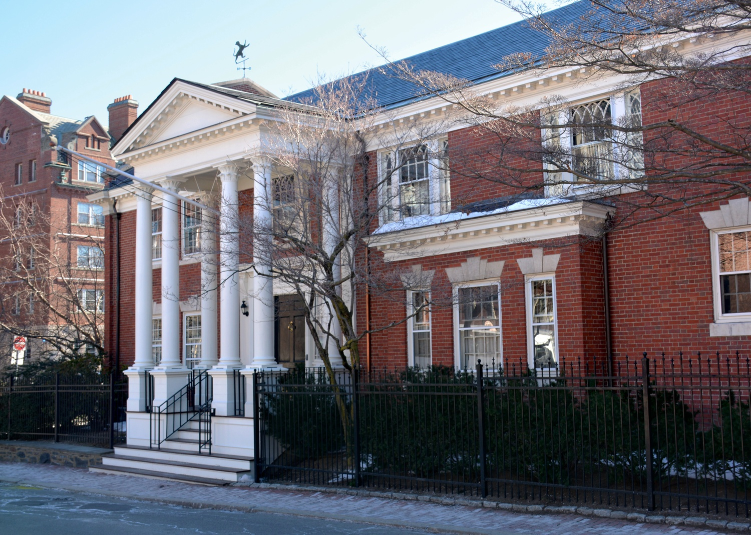 The Fly Club is one of several all-male final clubs at Harvard.