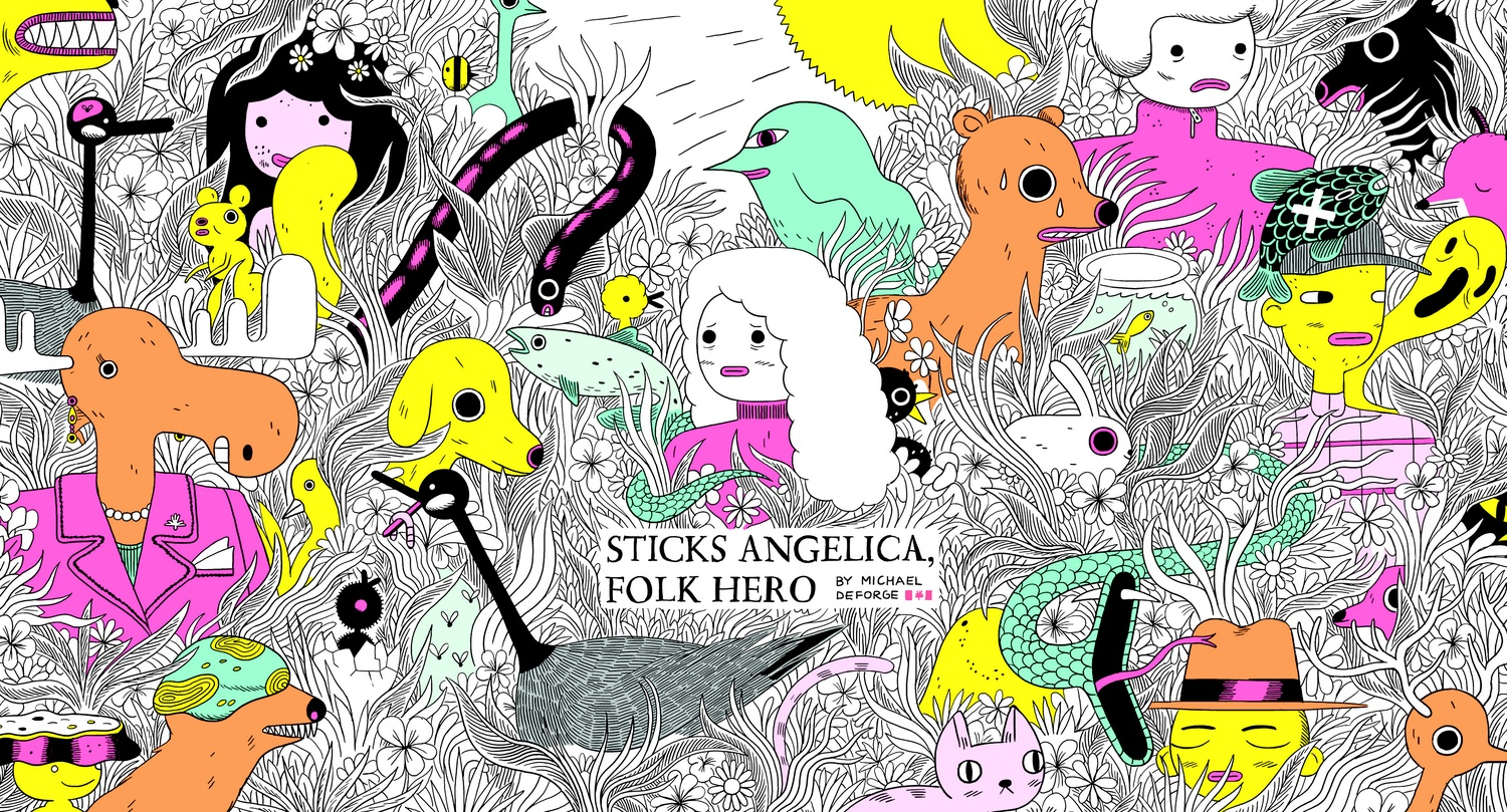 A Day in the Life of 'Sticks Angelica, Folk Hero' | Arts