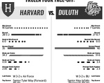 Tale of the Tape: Harvard vs. Duluth