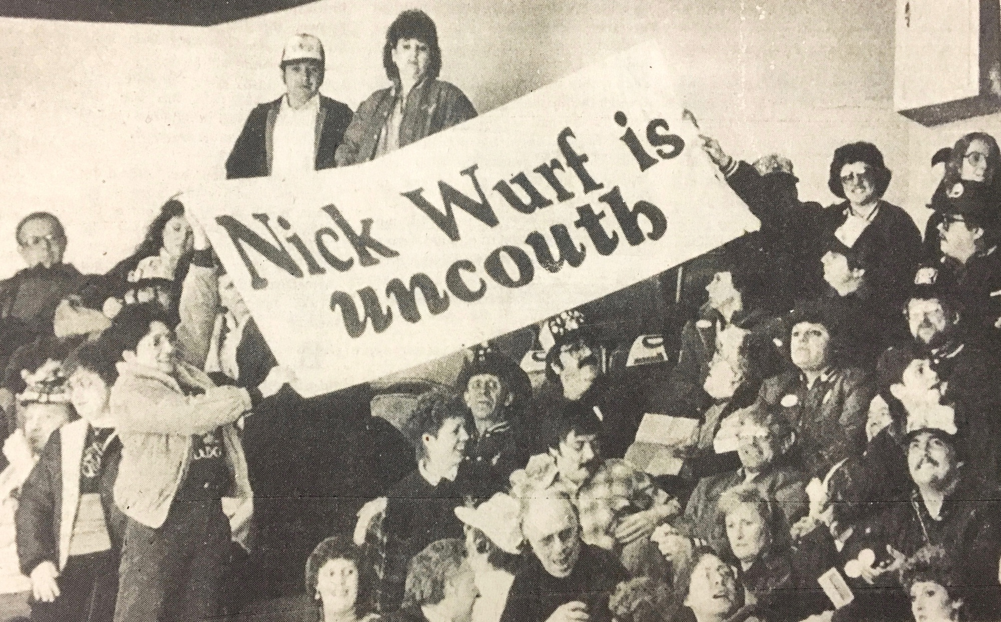 Minnesota-Duluth fans heckled Nick Wurf throughout the night as the Harvard men's hockey team squared off against the Bulldogs in the spring of 1985.