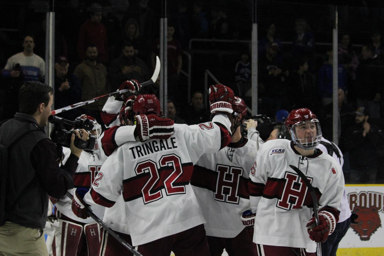 Harvard Hockey Locker Room