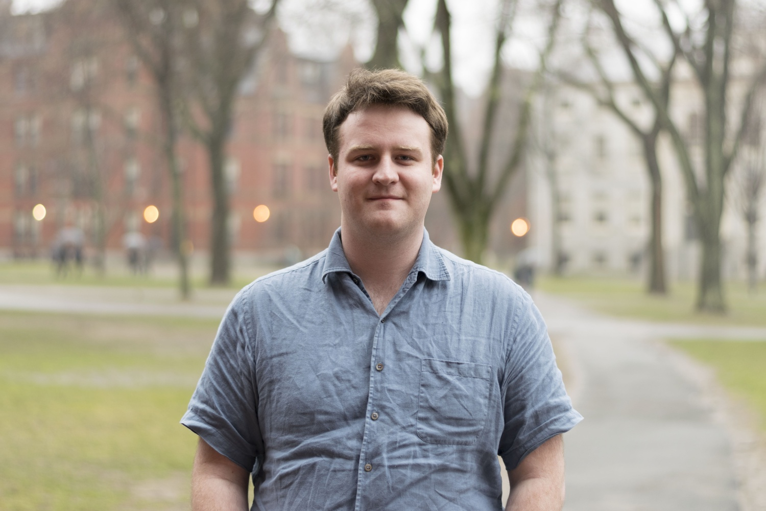 Conor Healy '19, a Government concentrator, leads the recently created Open Campus Initiative.