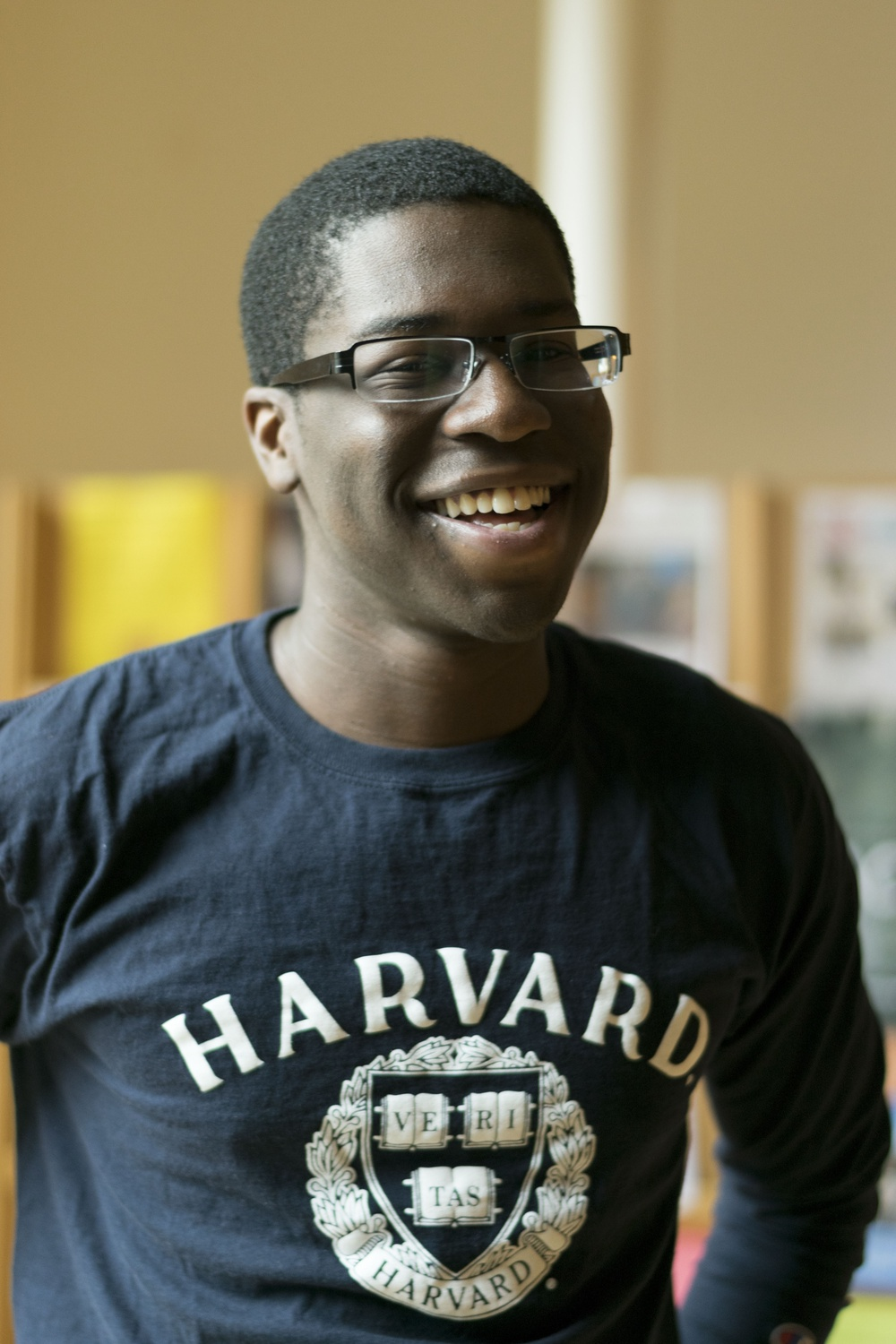 Marcus K. Granderson '18 crafted his own special concentration in rhetoric.