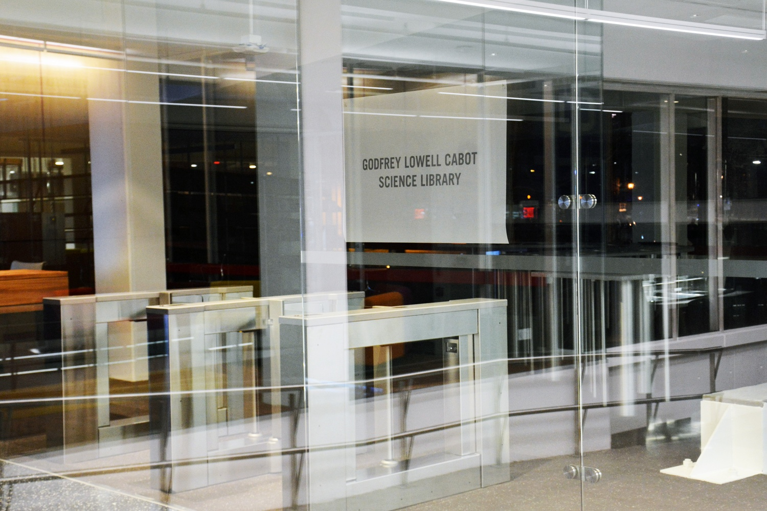 Cabot Science Library Reopens