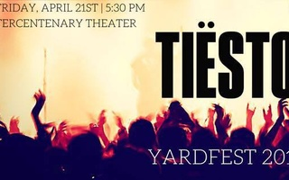 Tiesto at Yardfest