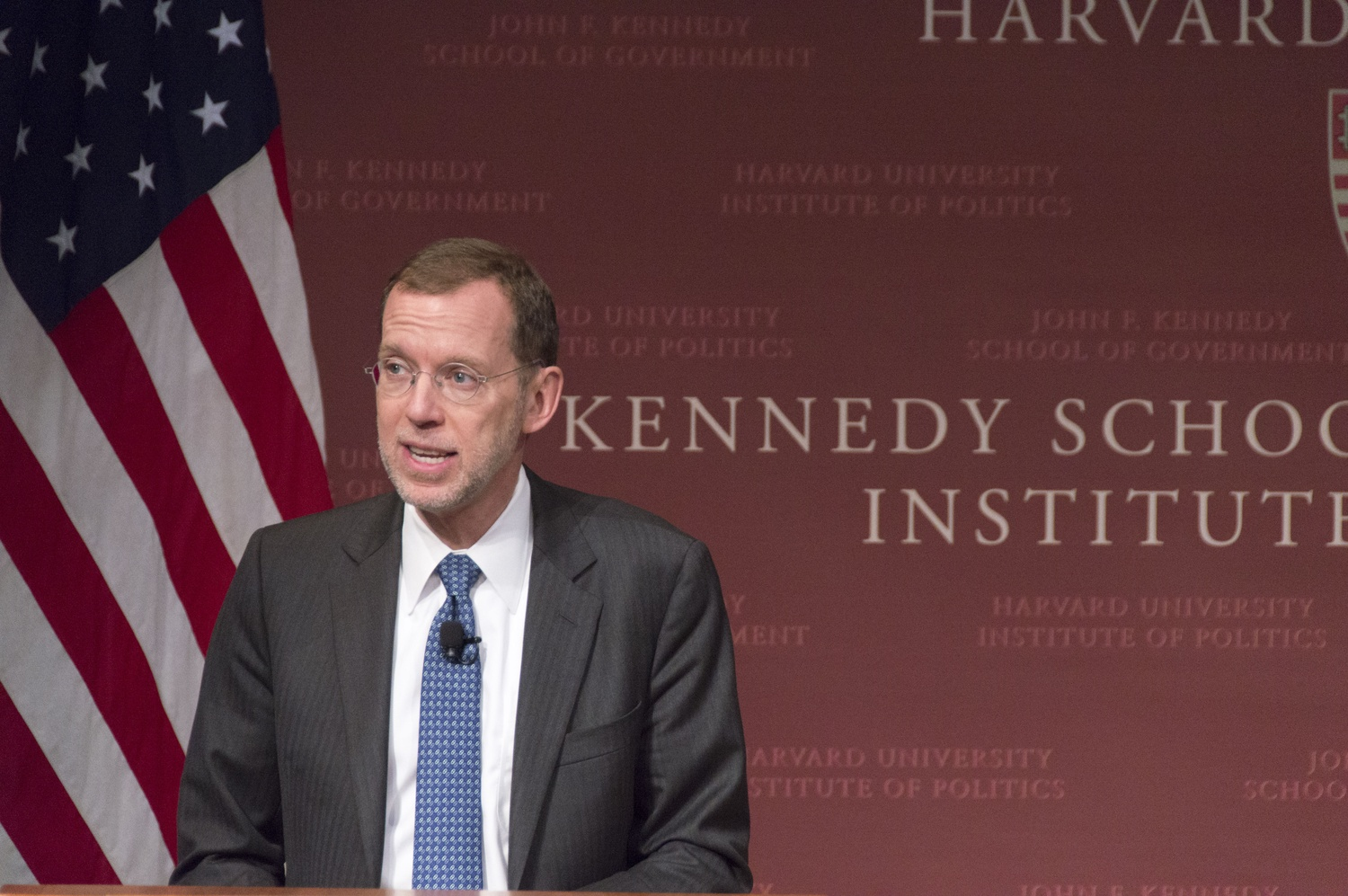 Harvard Kennedy School Dean Douglas W. Elmendorf declined to comment on whether Harvard should divest from the fossil fuel industry in an interview last week.