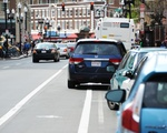 Harvard Square Bicycle Lane