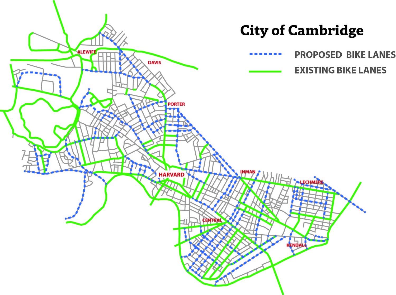 Cambridge Bike Lanes