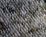 Prayers during Hajj 2012