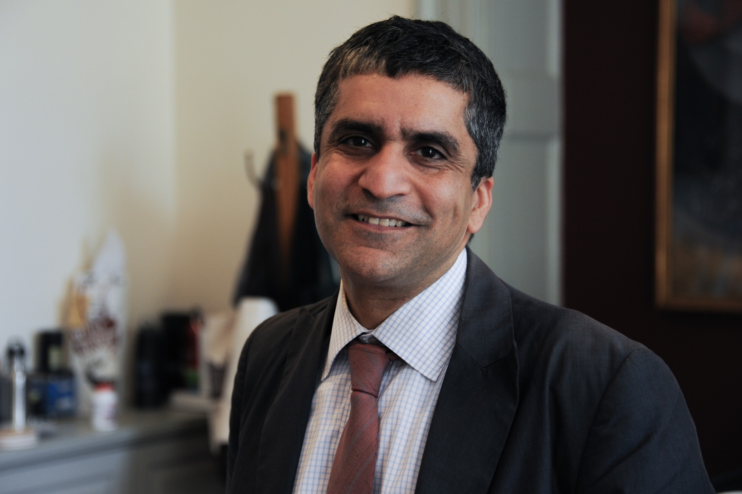 Dean of the College Rakesh Khurana holds professorships in Sociology in the Faculty of Arts & Sciences and Leadership Development at Harvard Business School.
