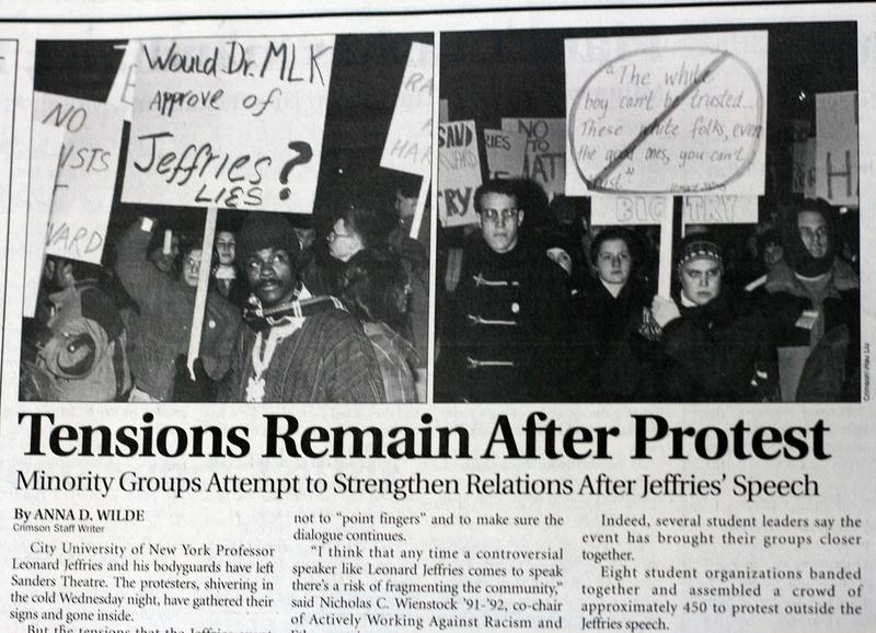 Jeffries Protest
