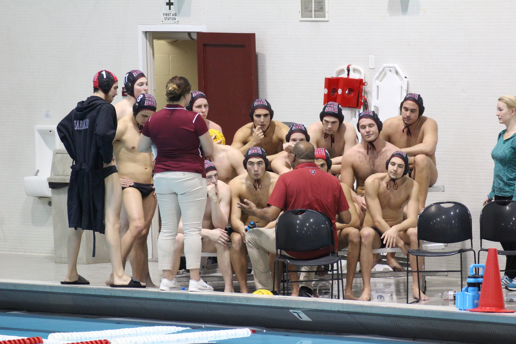 Harvard men's and women's water polo coach Ted Minnis led both teams to new heights this season.