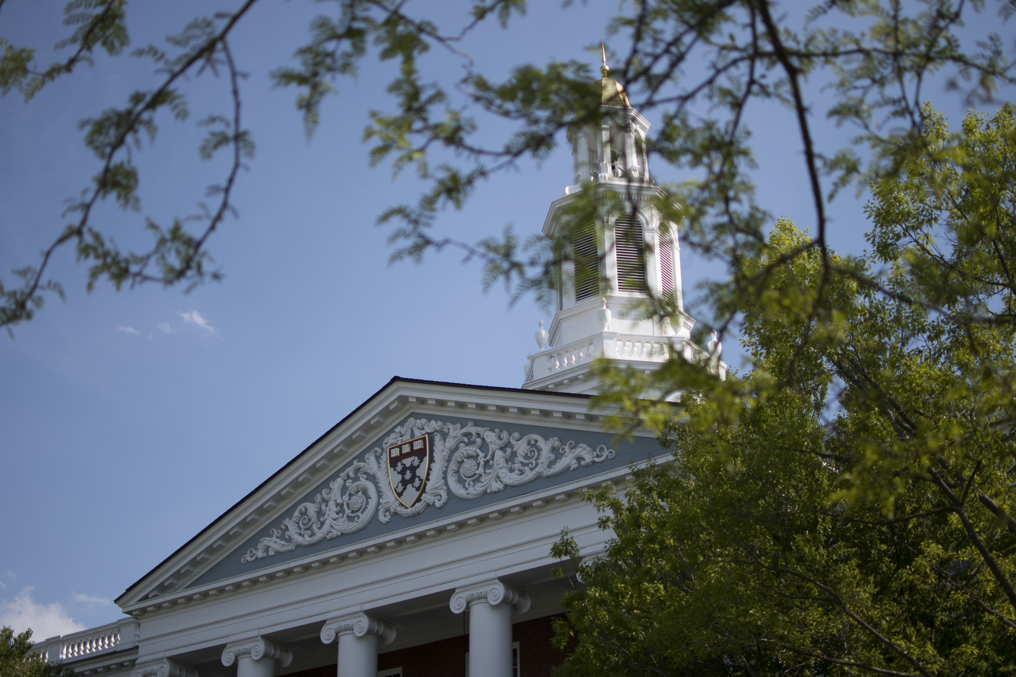 The Baker Library at Harvard Business School.