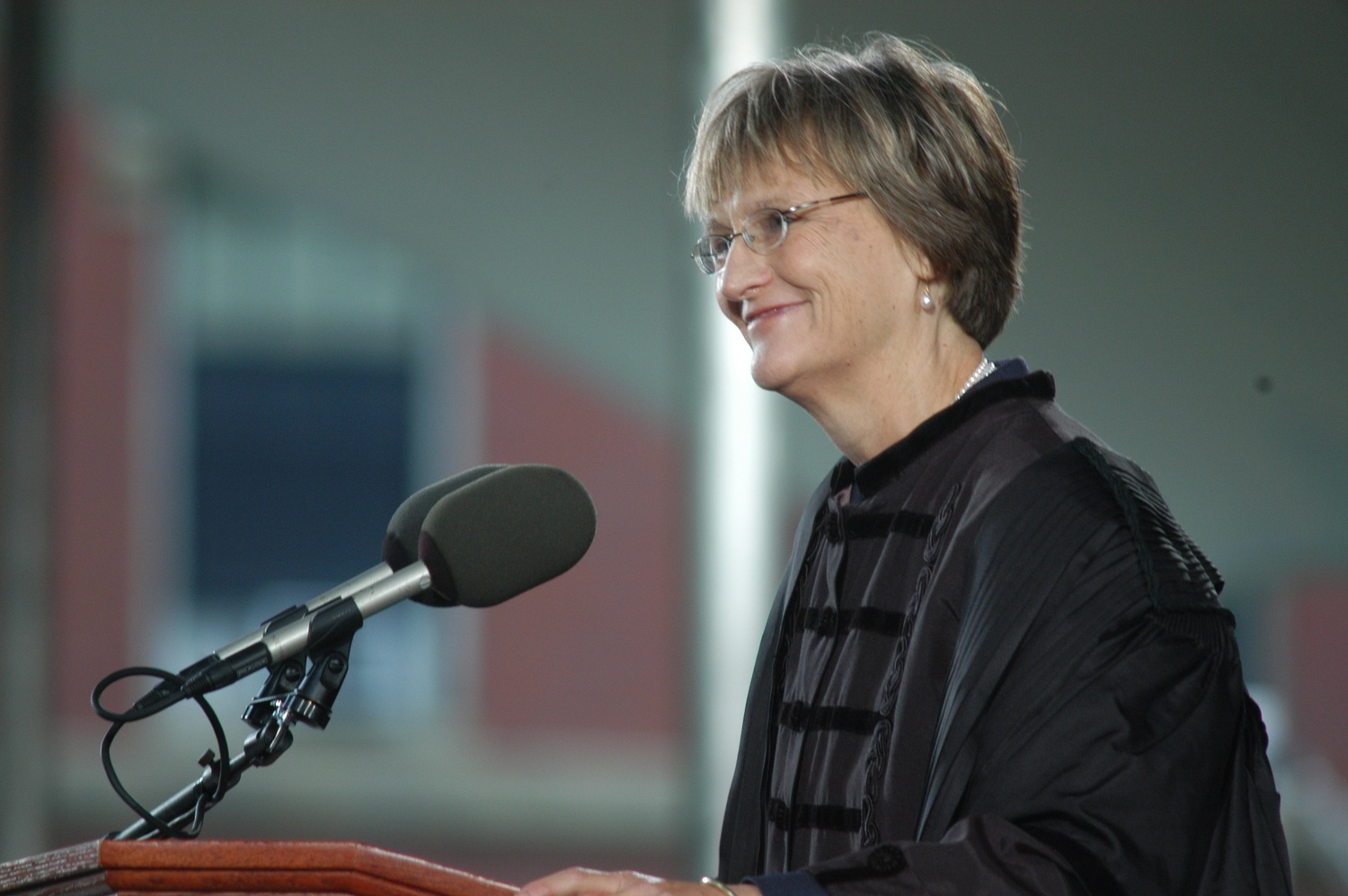 Drew G. Faust is inaugurated as University President in October 2007.