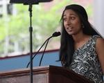 Riya Patel '17, First Marshal