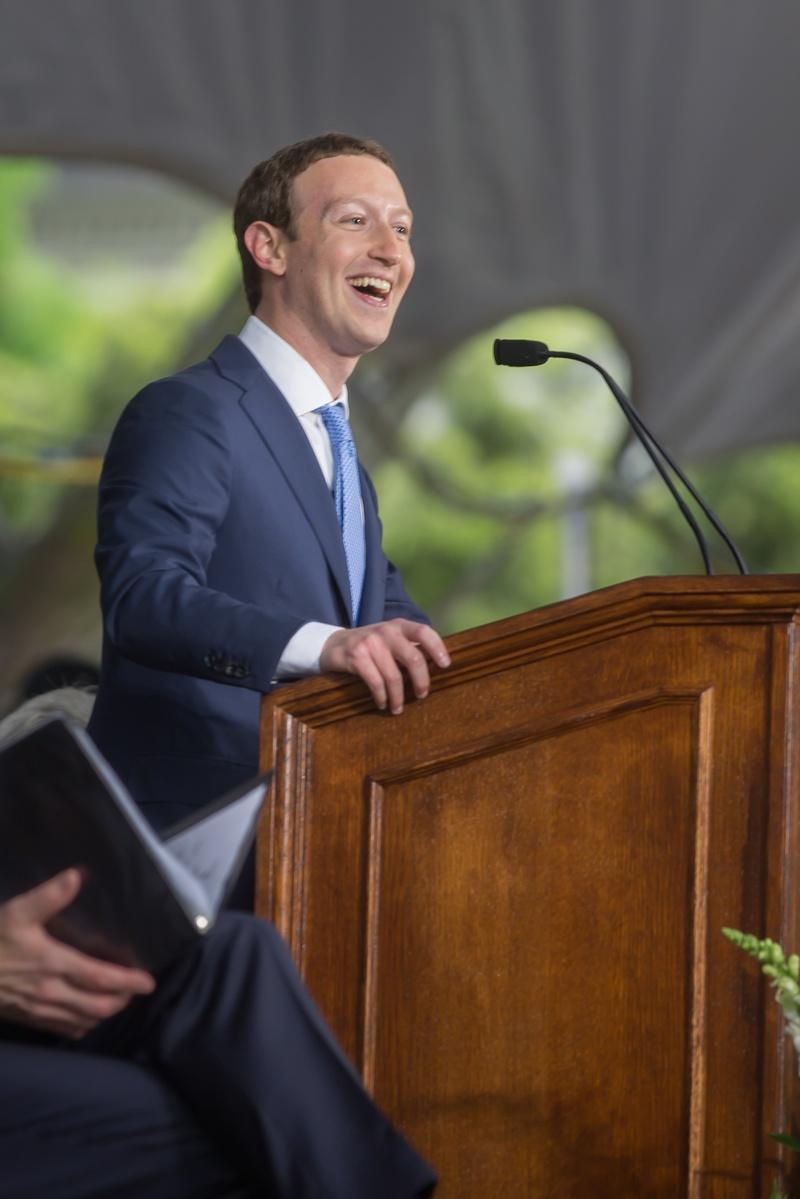 Zuckerberg Returns to Harvard