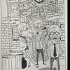 Harvard on a Friday Night Cartoon