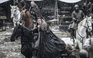 """Jon Snow in """"Stormborn"""""""