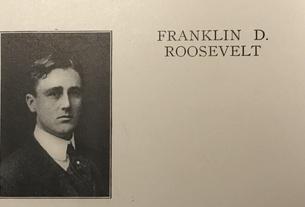 Franklin D. Roosevelt, Class of 1904