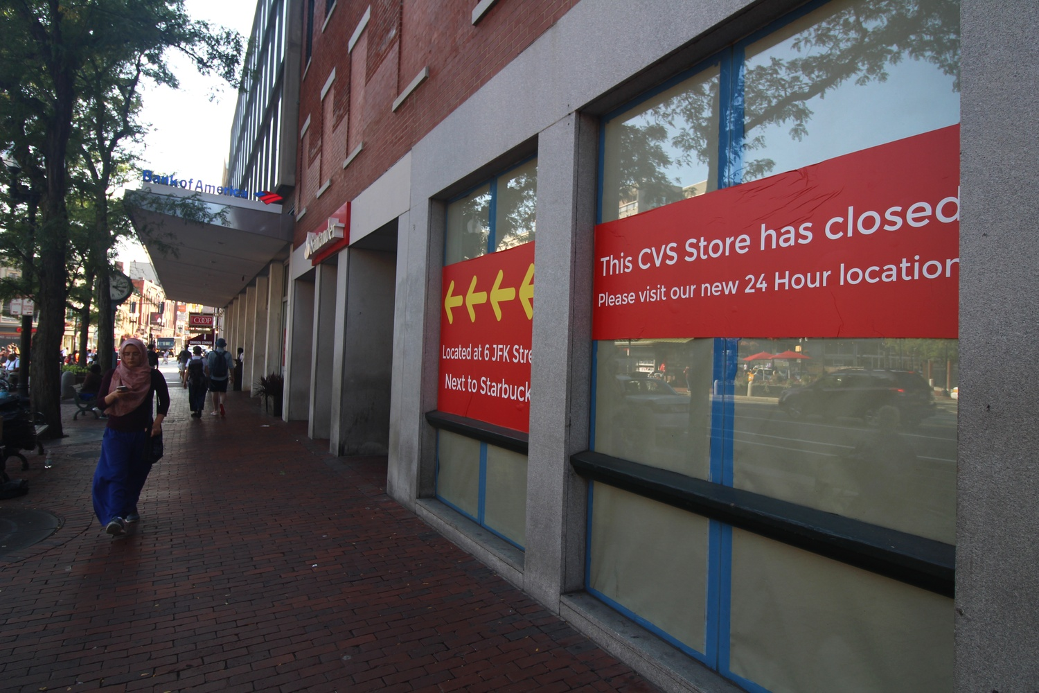 mass ave cvs closes news the harvard crimson