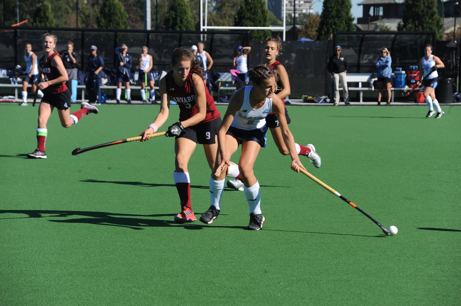 Junior back Olivia Allin and her Harvard teammates came back from California with a 2-1 record after going toe-to-toe with some of the country's premier teams.