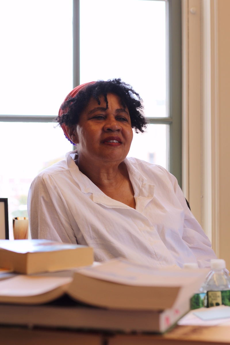 Professor Jamaica Kincaid