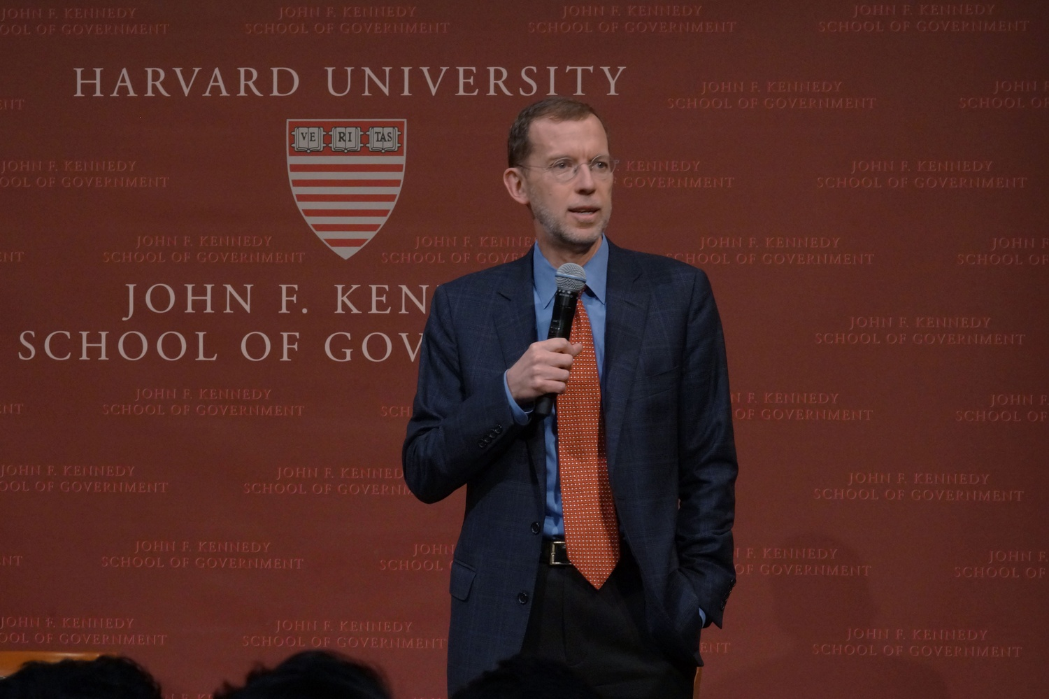 Douglas W. Elmendorf, Dean of the Harvard Kennedy School, announces that CIA Director Mike Pompeo has backed out of an Institute of Politics event to protest the HKS fellowship of Chelsea Manning.