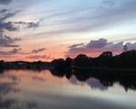 Sunset From Weeks Bridge