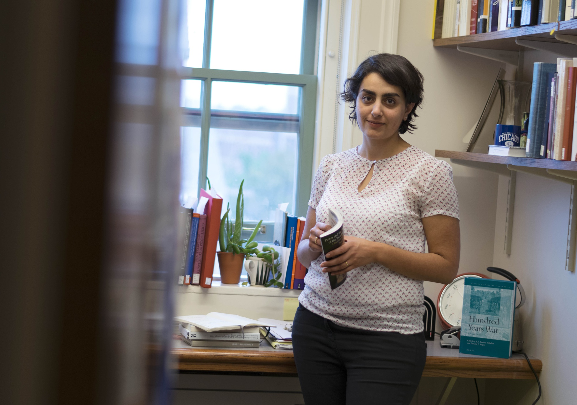 Racha Kirakosian is an Assistant Professor of German and the Study of Religion. She teaches Religion 59: The Real Game of Thrones — Culture, Society, and Religion in the Middle Ages.