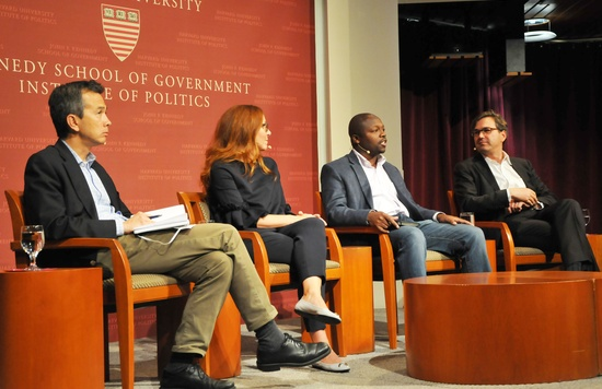 Artificial intelligence panel at the IOP
