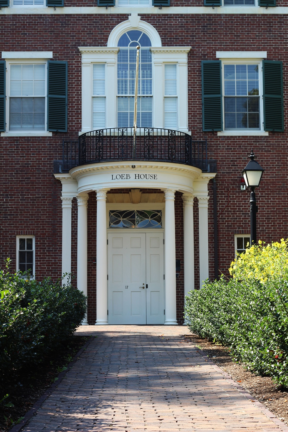 The Harvard Corporation typically meets at Loeb House seven or eight times each academic year.